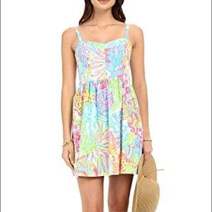 Lilly Pulitzer Multi coral lovers ardleigh dress